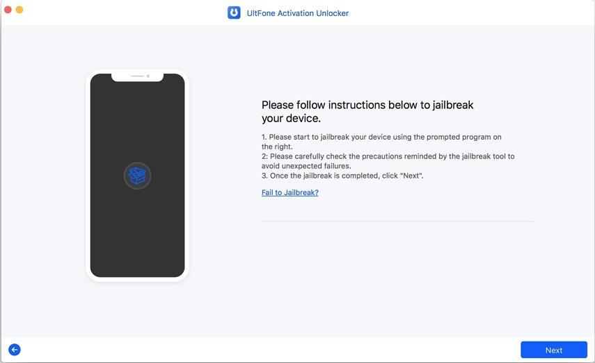 jailbreak iphone to unlock icloud activation lock