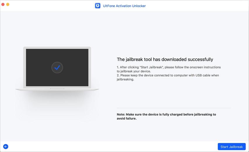successfully download jailbreak tool