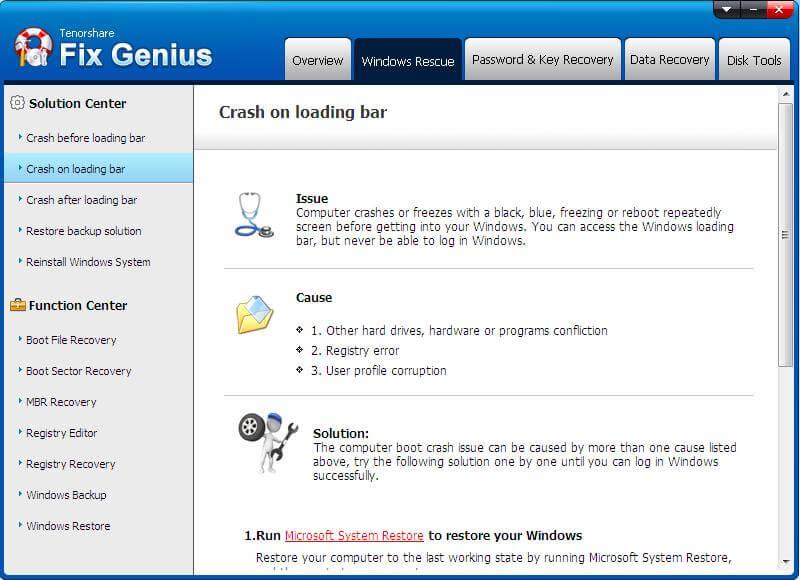 crash on loading bar