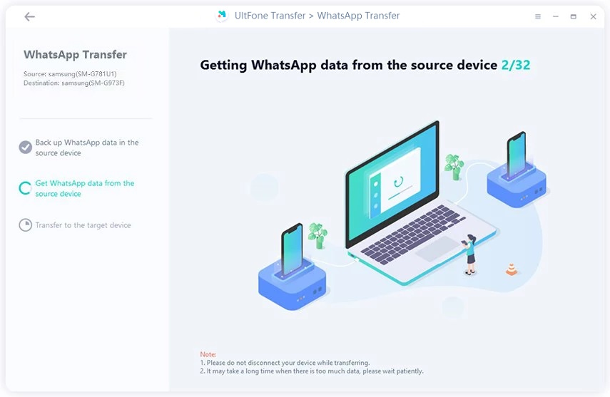 getting whatsapp data from android
