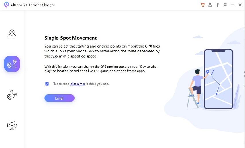 single-spot movement