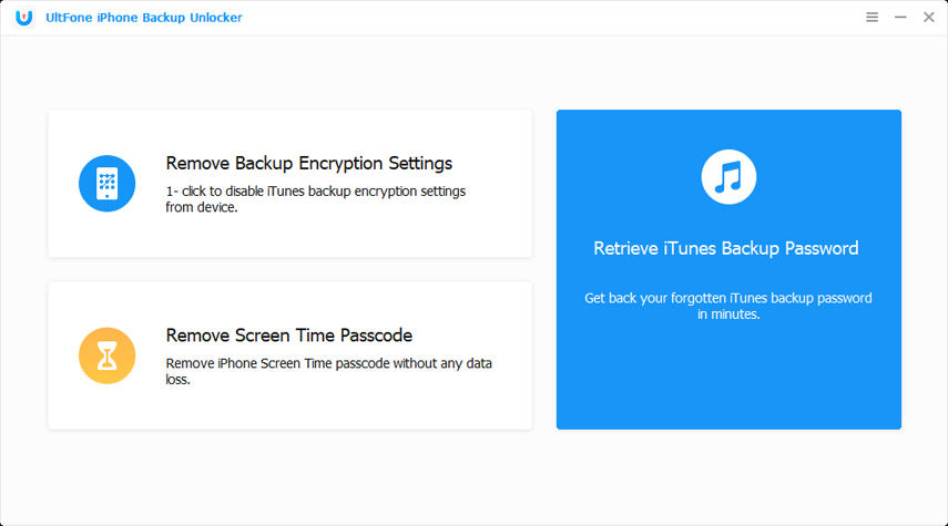 remove backup encryption settings