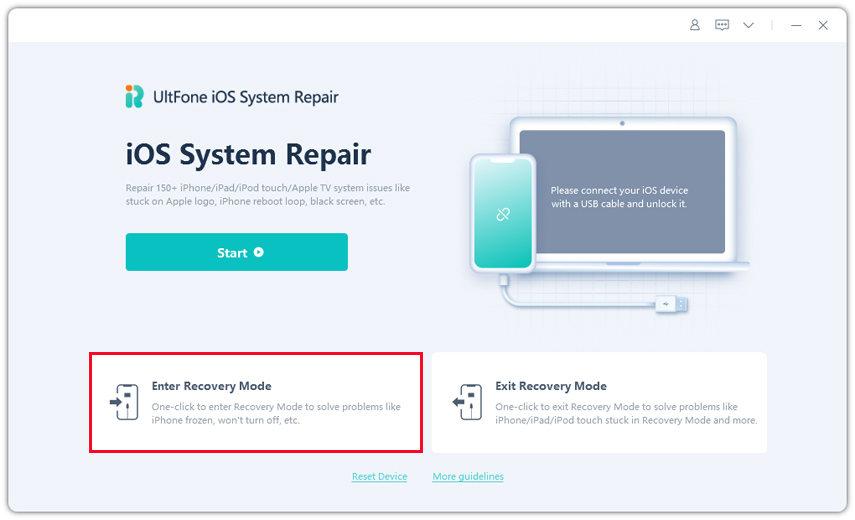 iOS an den Computer anschließen