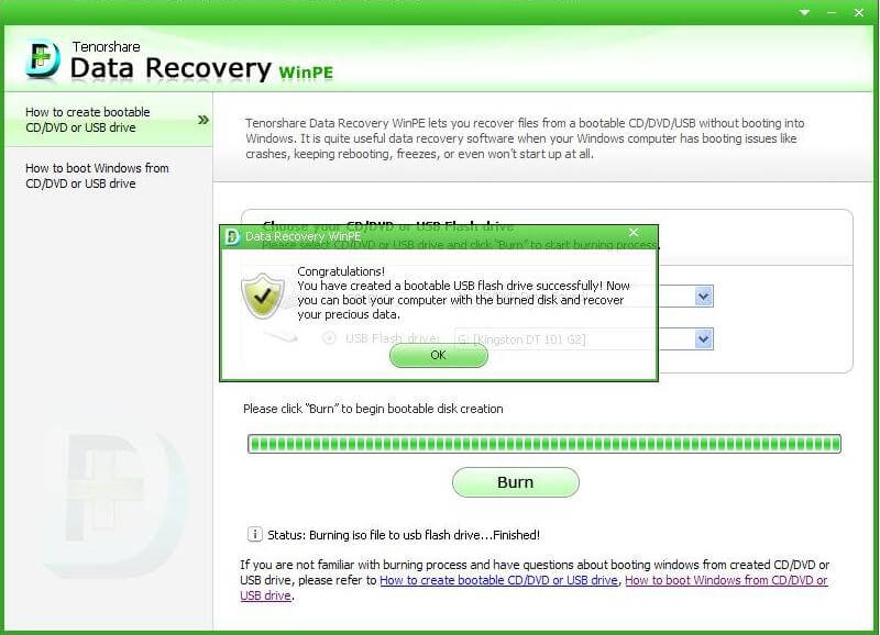 recover deleted files from unbootable laptop