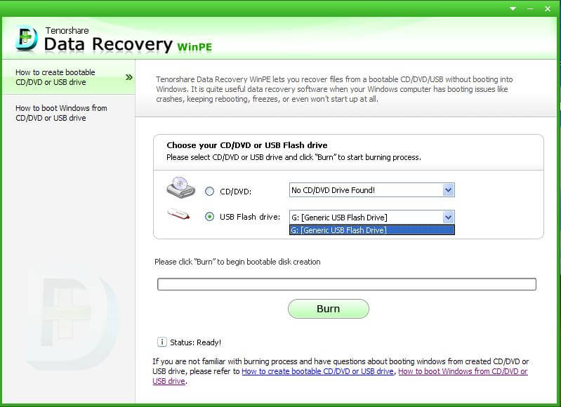 recover deleted files from unbootable hard drive