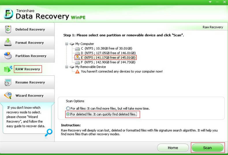 recover files from pc won't boot
