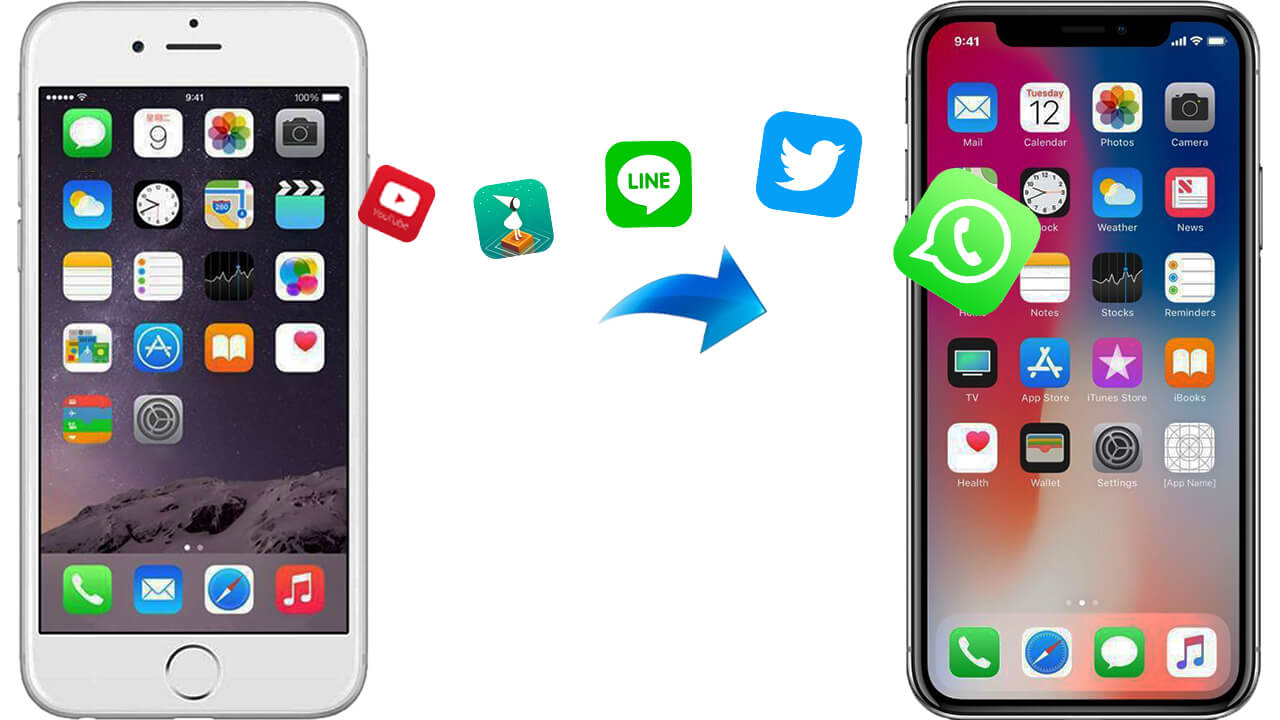 Best Way to Transfer App & Game Data from iPhone 6/6s to iPhone 12/11/X